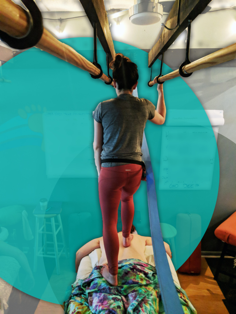 Center for Barefoot Massage: Advanced FasciAshi training